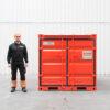kleine container zegwaard containerverhuur